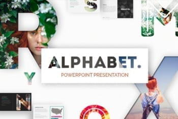 Alphabet Powerpoint Presentation Template