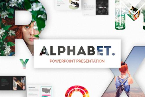 Alphabet Presentation template
