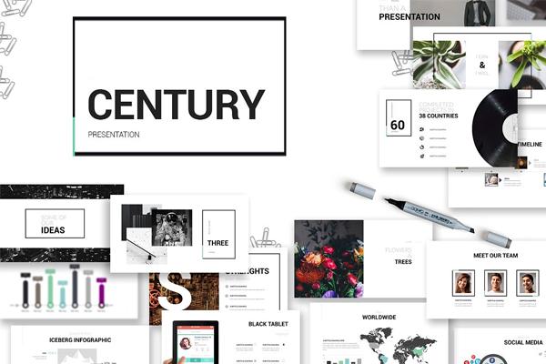 Century Presentation template