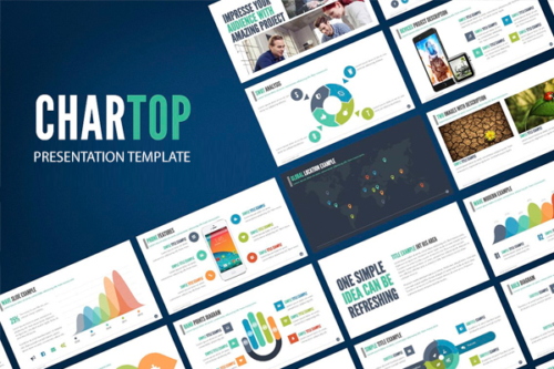 Chartop Presentation template