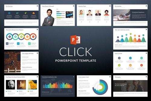 Click Presentation template