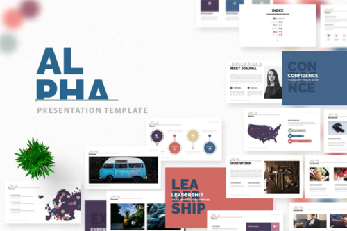 Alpha Presentation template
