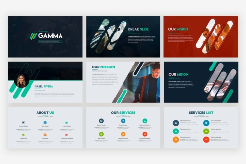 Gamma Presentation Template