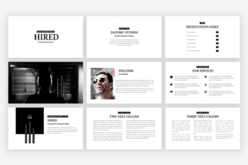 Hired Presentation Template