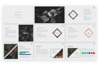 Marketfy Presentation template