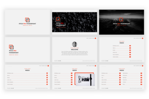 Pitch Pro Presentation template