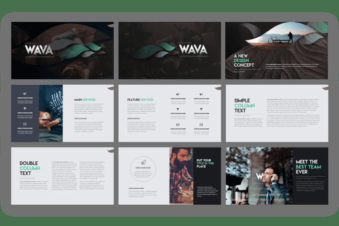 Wava Presentation Template