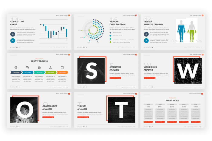 Pitch Pro Presentation template