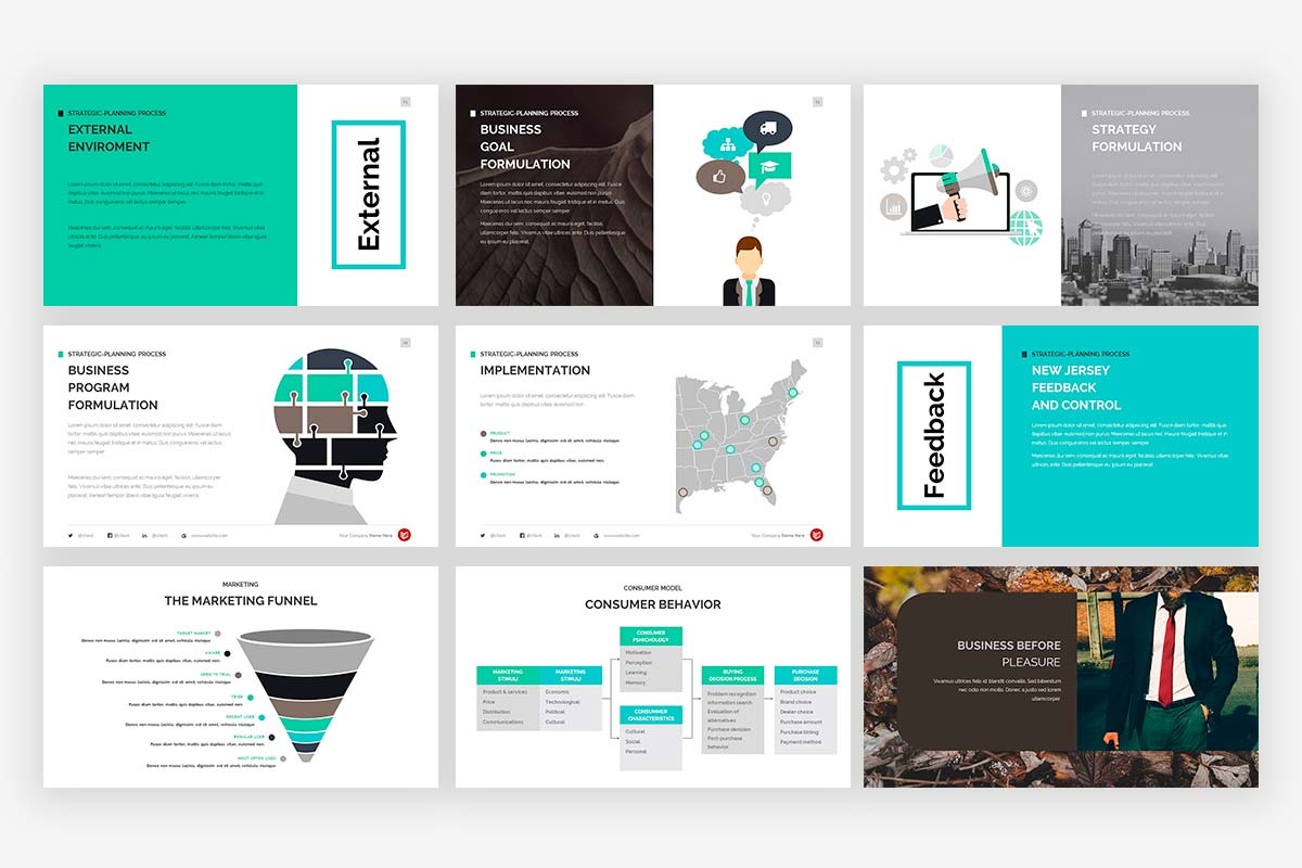 Complete Business Presentation Template