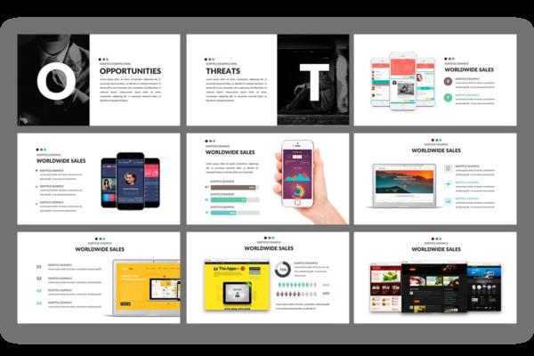 Minimix Presentation template