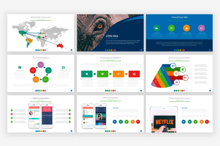 Global Presentation Template