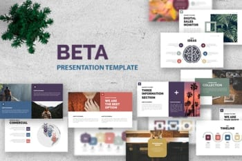 Beta Powerpoint Presentation Template