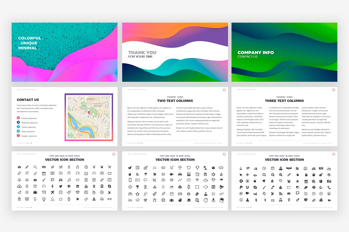Colorful Presentation Template