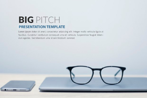 Big Pitch Presentation template