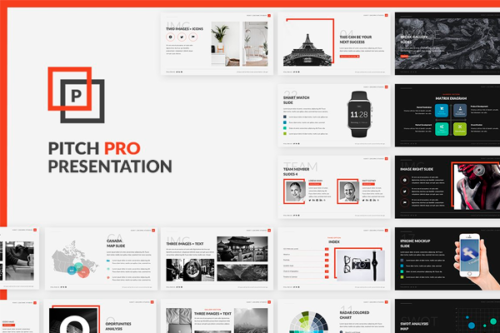 Pitch Pro Powerpoint presentation template Pitch Deck Slides