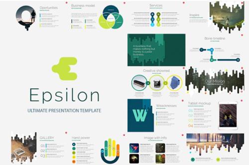 Epsilon Presentation template