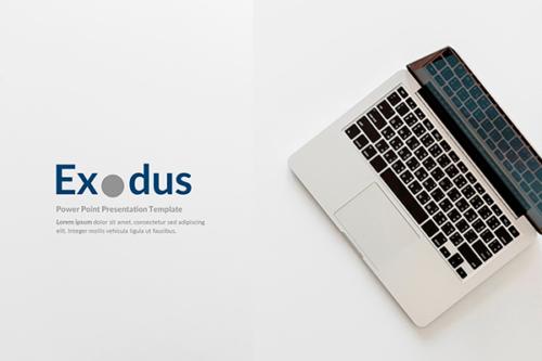 Exodus Presentation template