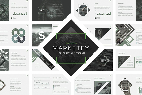 Marketfy Powerpoint presentation template