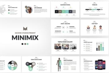 Minimix Powerpoint presentation template