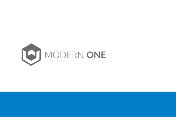 Modern One page Muse Template