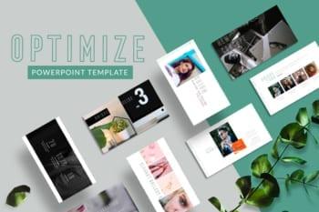 Optimize Presentation Template