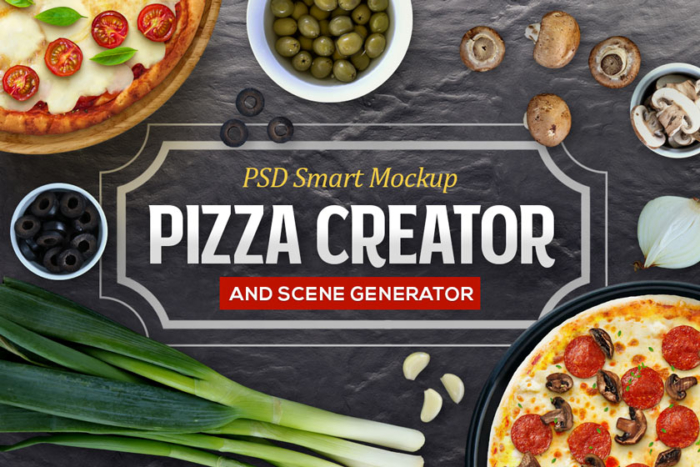 Pizza Creator by Graphicboom