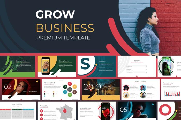 Grow Business Template Multipurpose Template