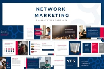 Network Marketing Powerpoint Presentation Template