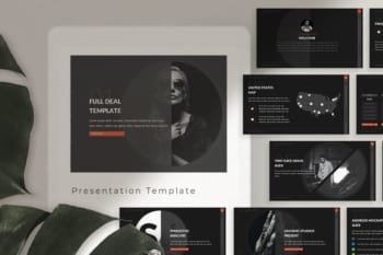 Full Deal Powerpoint Presentation Template