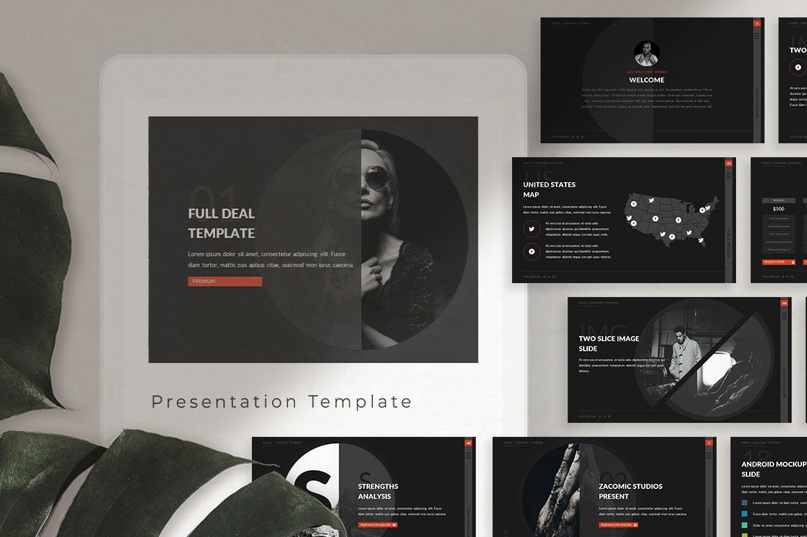Full Deal Powerpoint Presentation Template