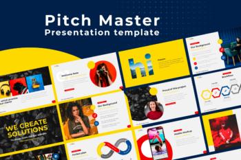 Pitch Deck Google Slides Presentation Template