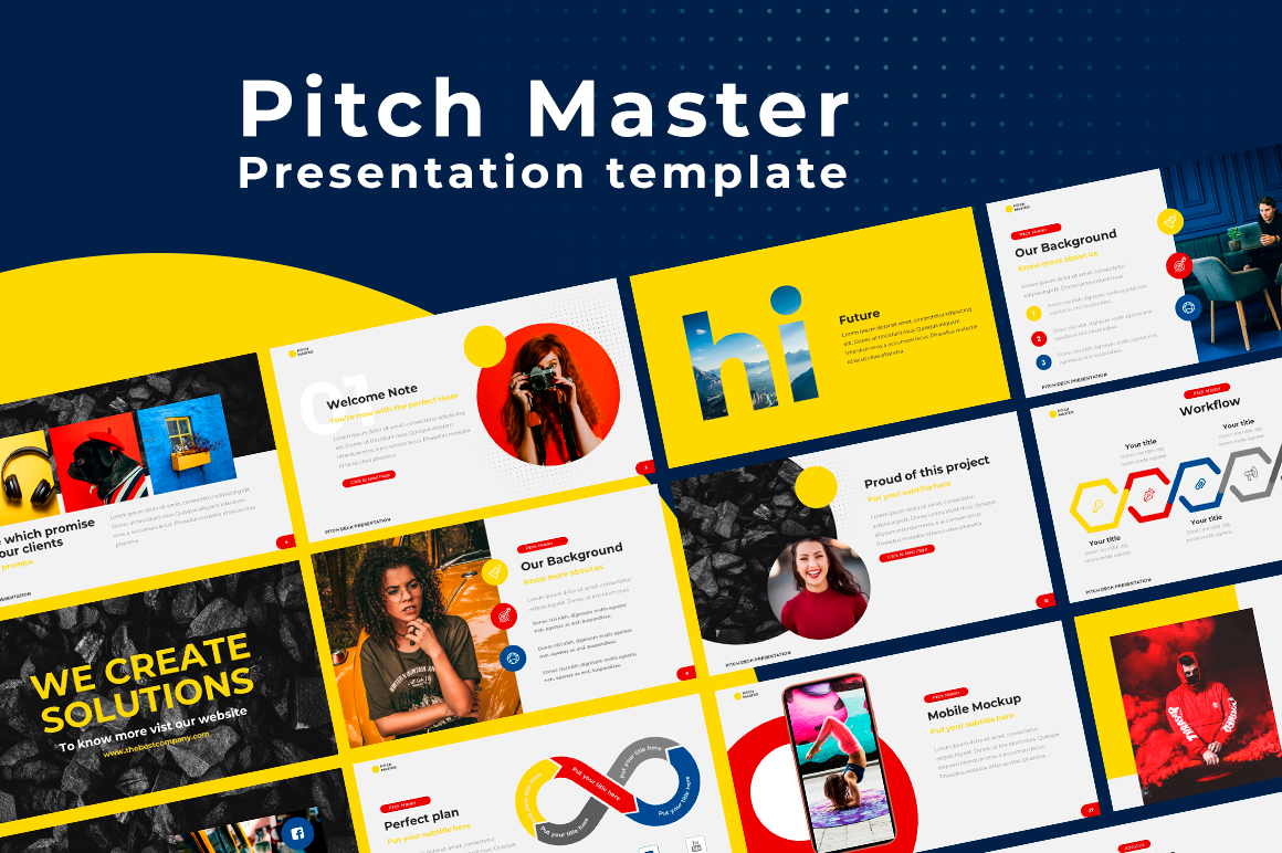 Pitch Deck Google Slides Presentation Template