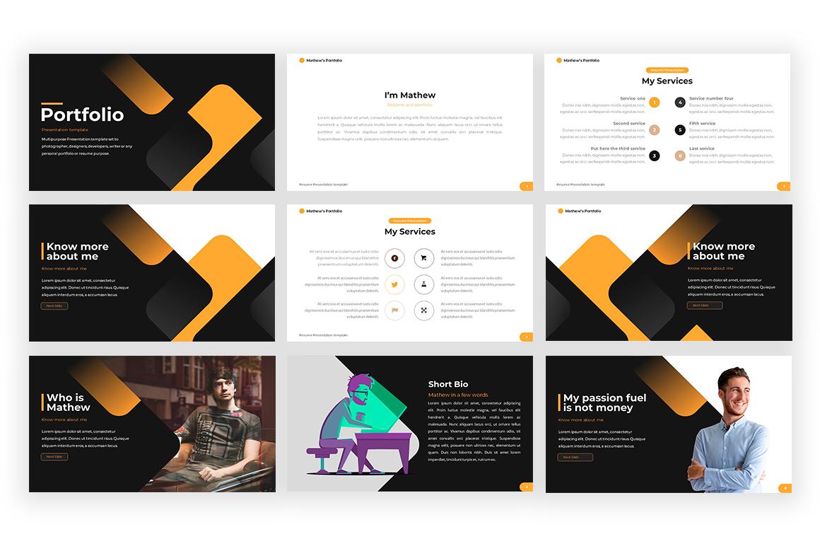 Portfolio-Powerpoint